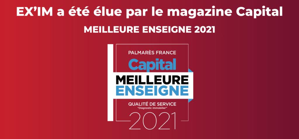 EXIM est l'entreprise française la plus recommandée sur le secteur du diagnostic immobilier