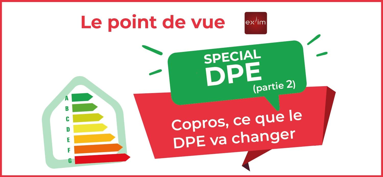 Copros, ce que le DPE va changer